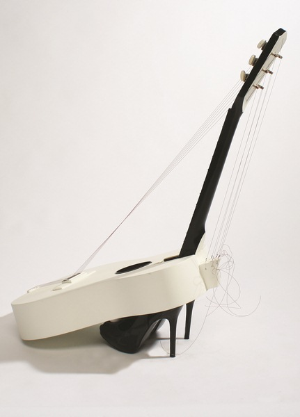 Unique Prize Draw - Well Heeled Guitar by Anne McGill