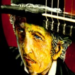 Bob Dylan by William Mulhall close up