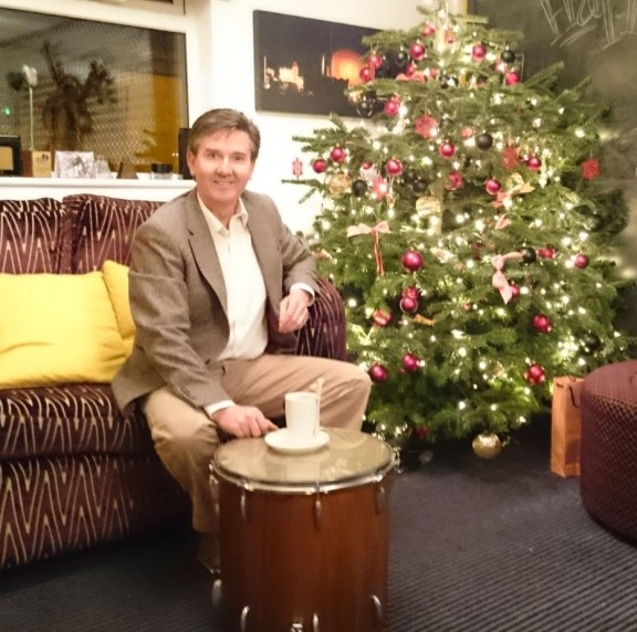 Daniel O'Donnell at Mutiny Recording Studios