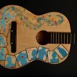 Instrumental Art - Guitar Comic by Deirdre de Barra close