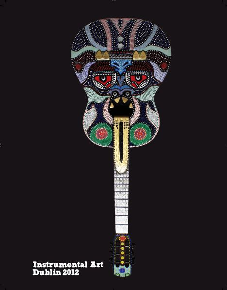 Unique Prize Draw - Guitar God by Kevin Bohan
