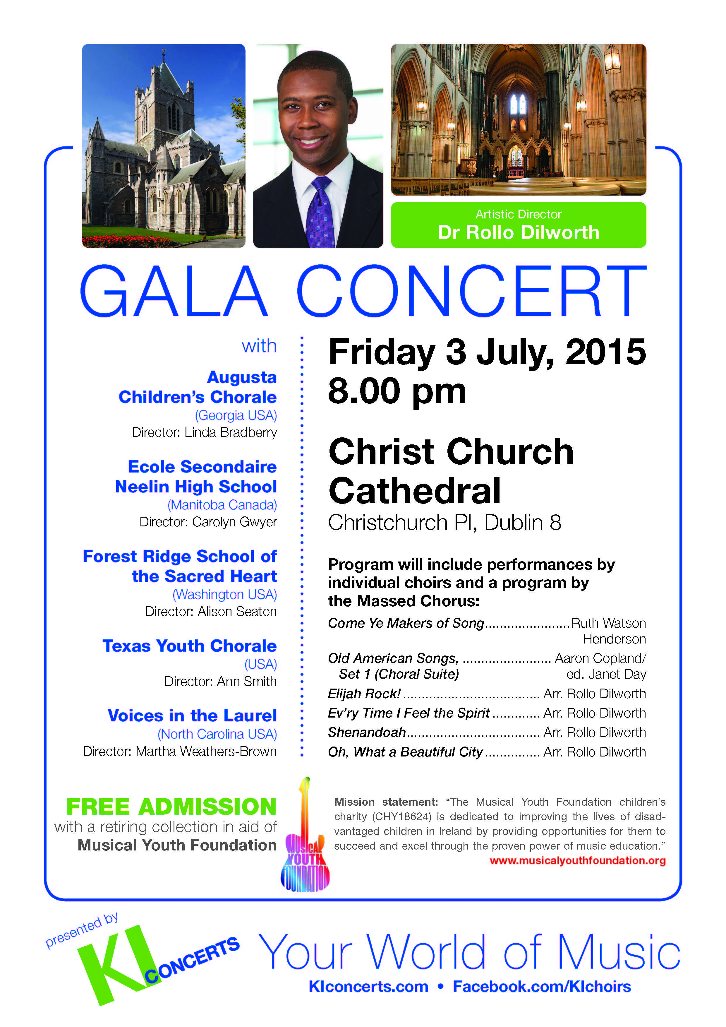Musical Youth Foundation, Christ Church Cathedral