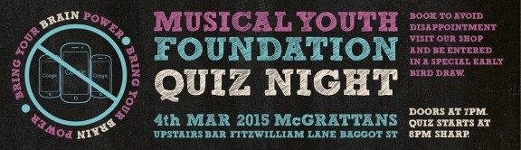 MYF Quiz Night March 2105