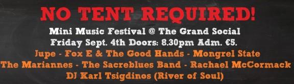 MYF No Tent Required Mini Music Festival
