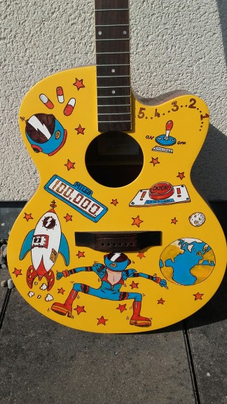 Musical Youth Foundation Space Oddity Guitar