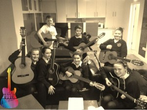 Musical Youth Foundation - St Andrews New Guitar Group Lesson 1b&w