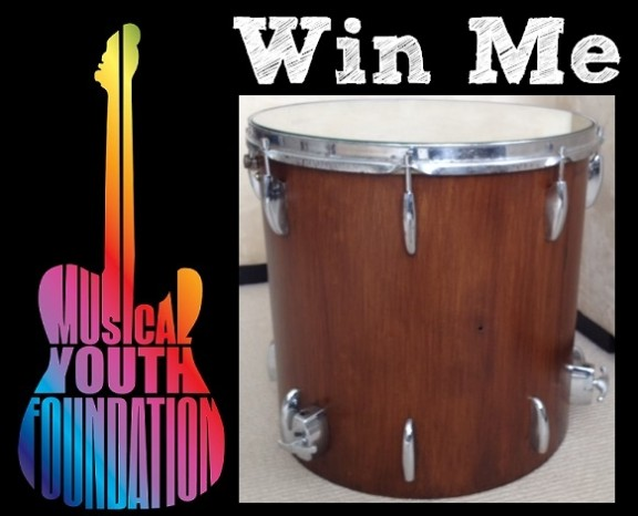 Donate For Chance To Win Drum Side Table