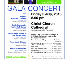 Free Concert at Christ Church Cathedral