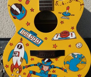 Space Oddity Guitar by Austin Lysaght