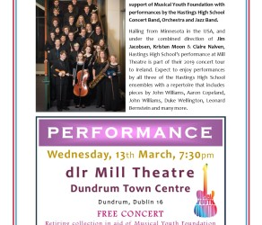 FREE Concert @ The Mill Theatre Dundrum